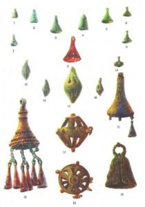 زنگوله به عنوان ابزار آرایشی مردمان باستانی