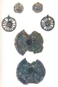 مدال ها و نشان های باستانی مفرغی