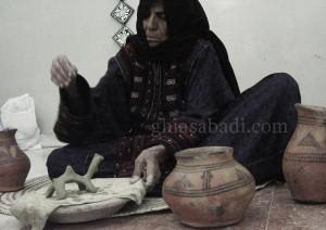 زن سفالگر کلپورکان