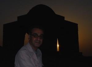 طلوع خورشید در چارتاقی نیاسر و غیاث آبادی
