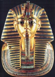 نقش مار بر تاج فرعون