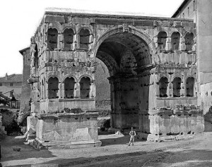 چارتاقی ژانوس در شهر رم ایتالیا
