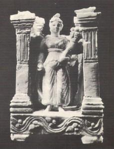 ماکت چهارطاقی از شهر اشکانی هاترا