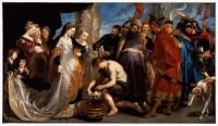 سر کورش تقدیم به ملکه تومیریس