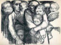 نمونه طراحی و نقاشی کته کلویتس